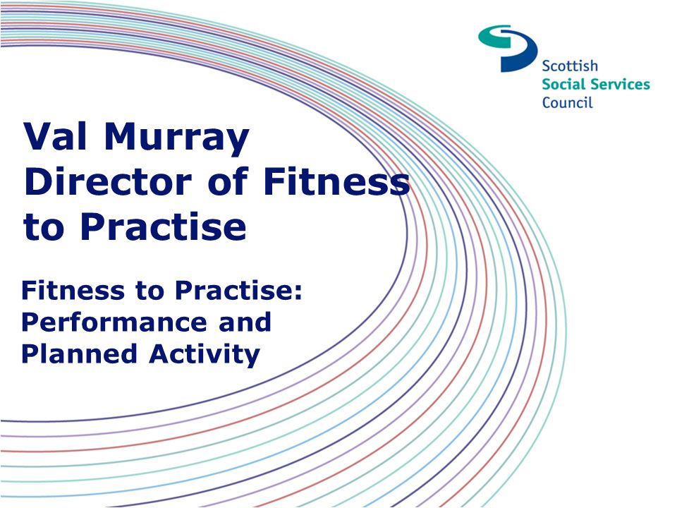 Val Murray Director of Fitness to Practise