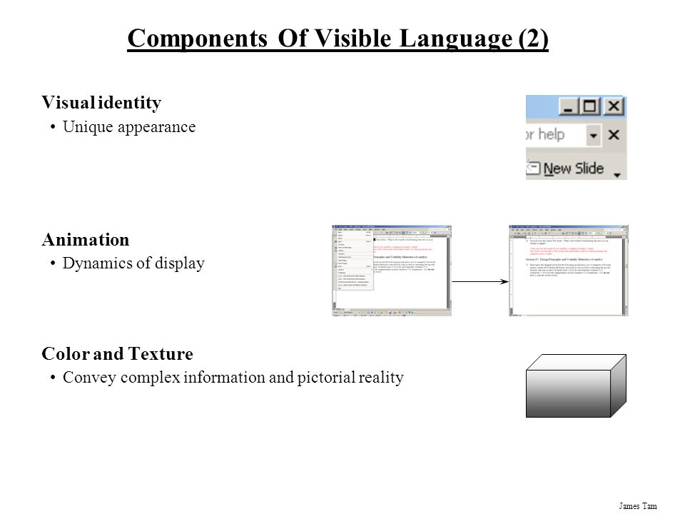 Components Of Visible Language (2)