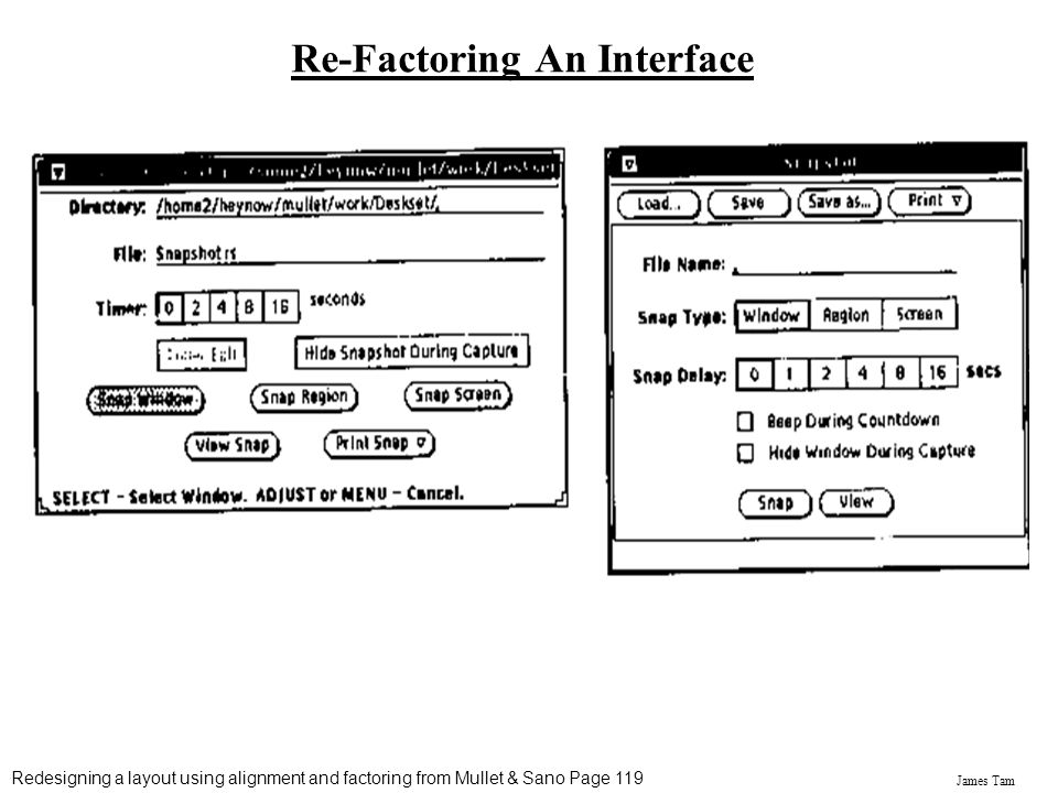 Re-Factoring An Interface