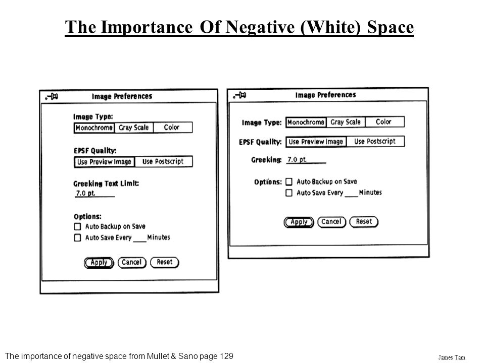 The Importance Of Negative (White) Space