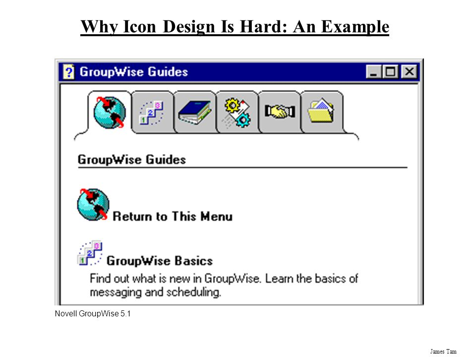 Why Icon Design Is Hard: An Example