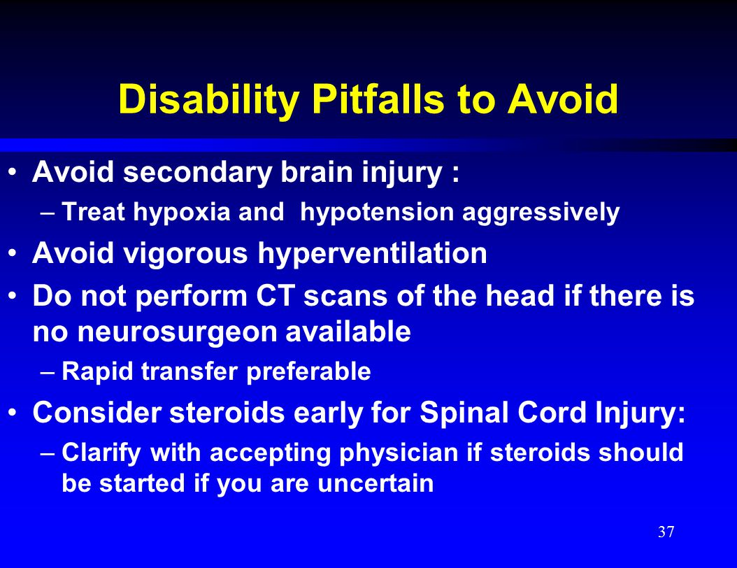 Disability Pitfalls to Avoid