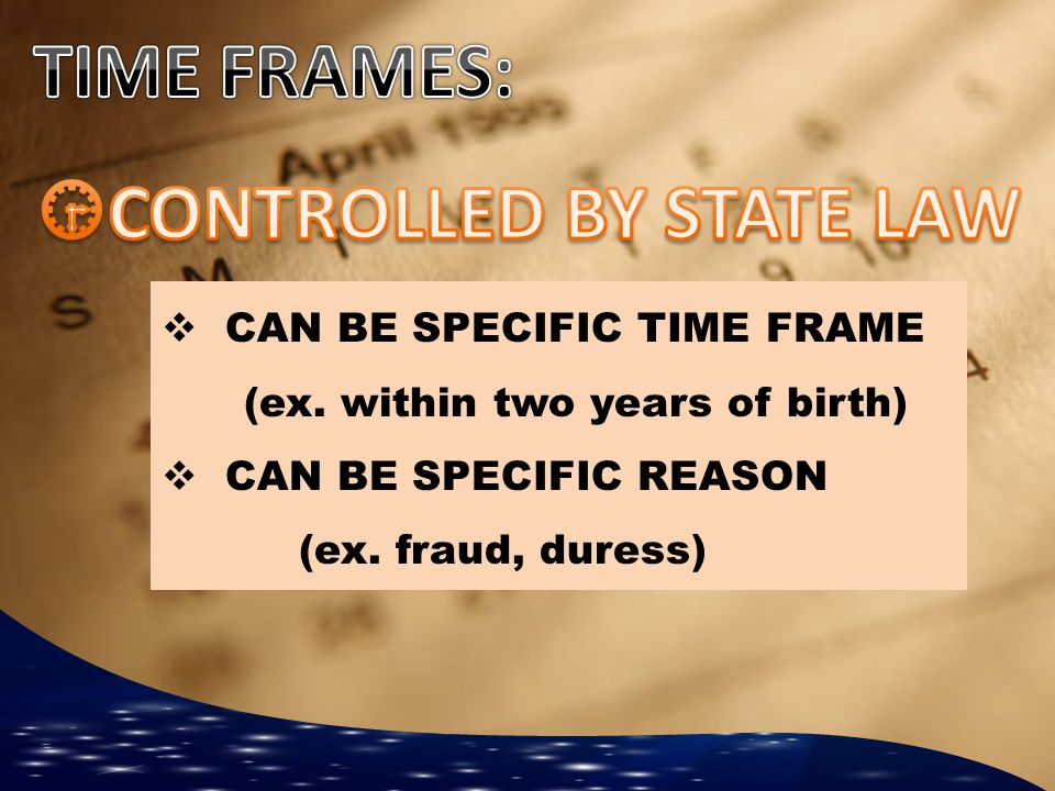 CONTROLLED BY STATE LAW