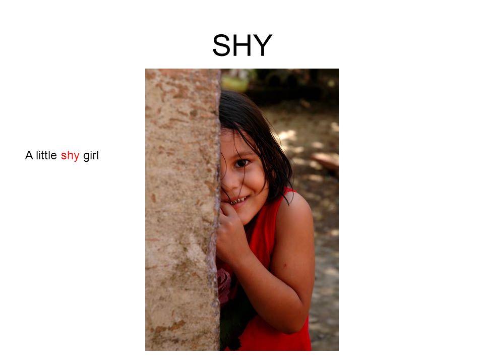 SHY A little shy girl