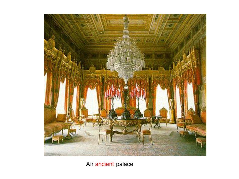 An ancient palace