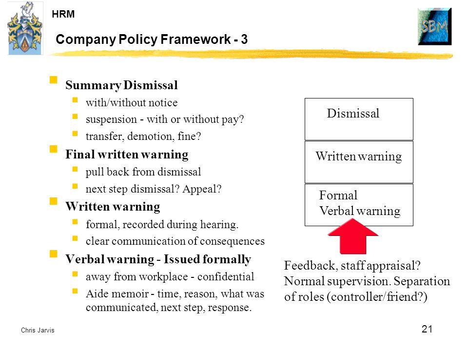 Company Policy Framework - 3