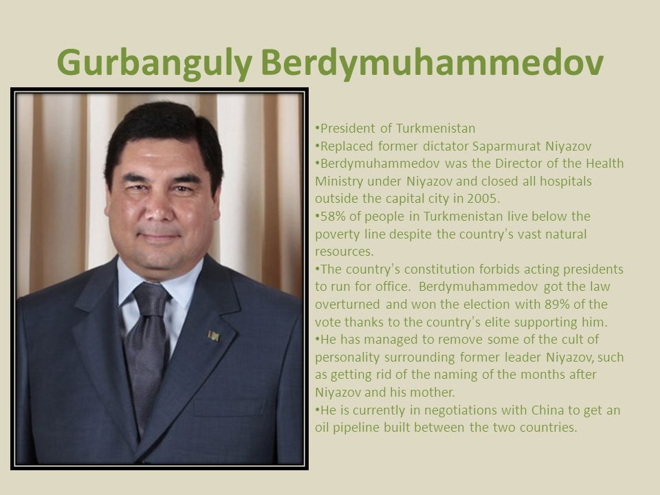 Gurbanguly Berdymuhammedov