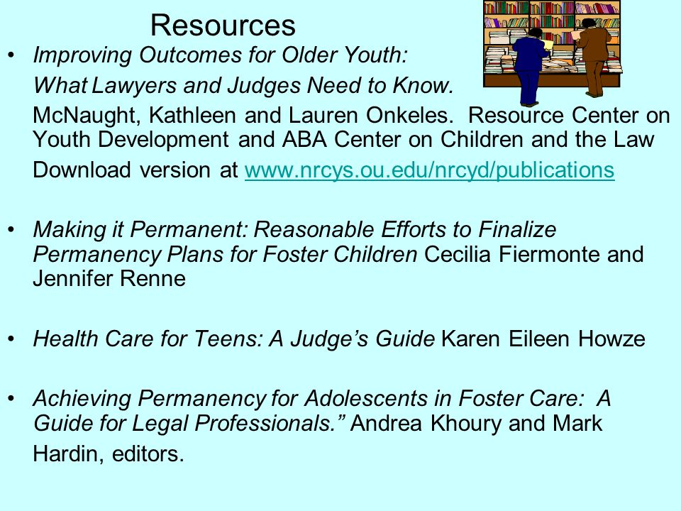 Resources Improving Outcomes for Older Youth: