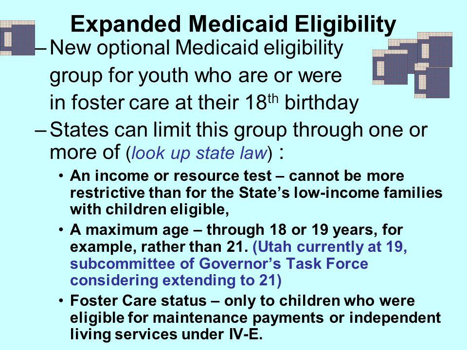 Expanded Medicaid Eligibility