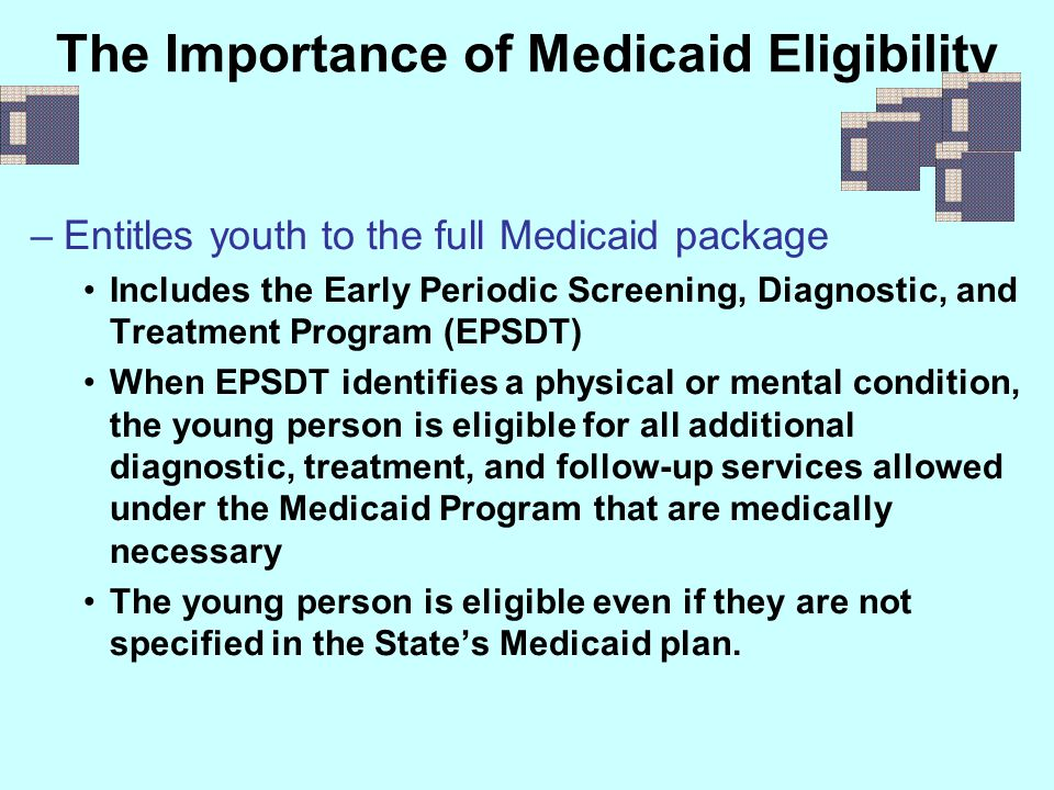 The Importance of Medicaid Eligibility