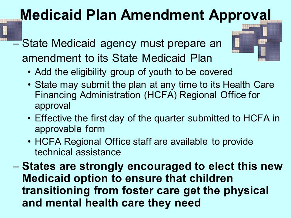 Medicaid Plan Amendment Approval