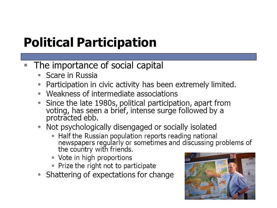 Political Participation