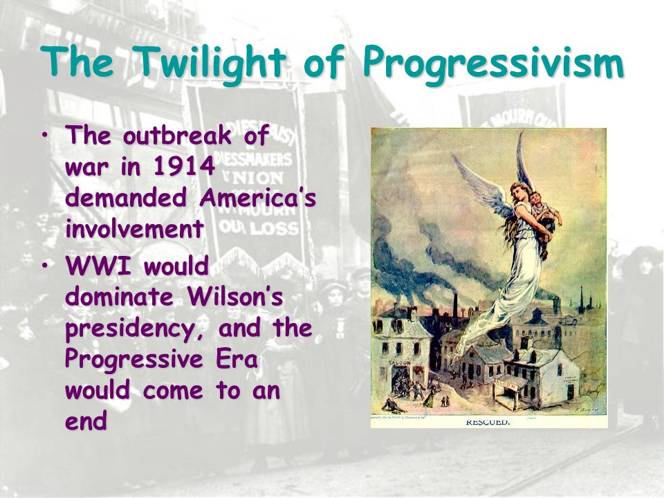 The Twilight of Progressivism