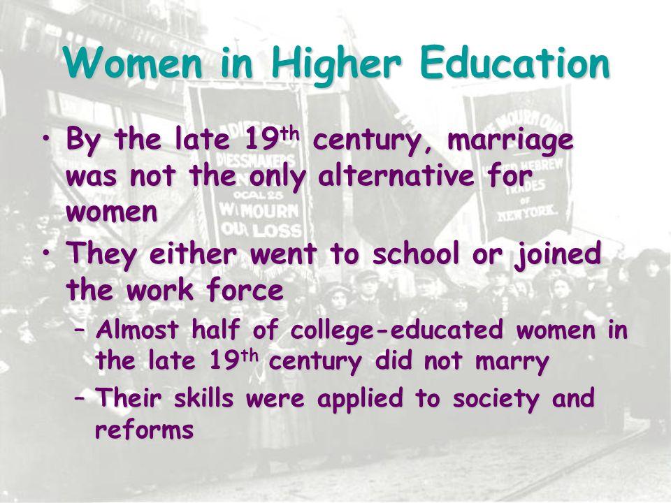 Women in Higher Education