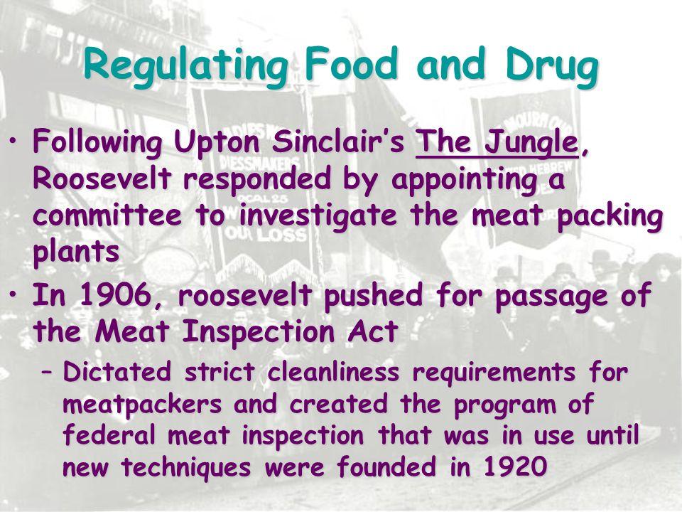 Regulating Food and Drug