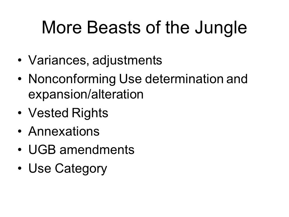 More Beasts of the Jungle