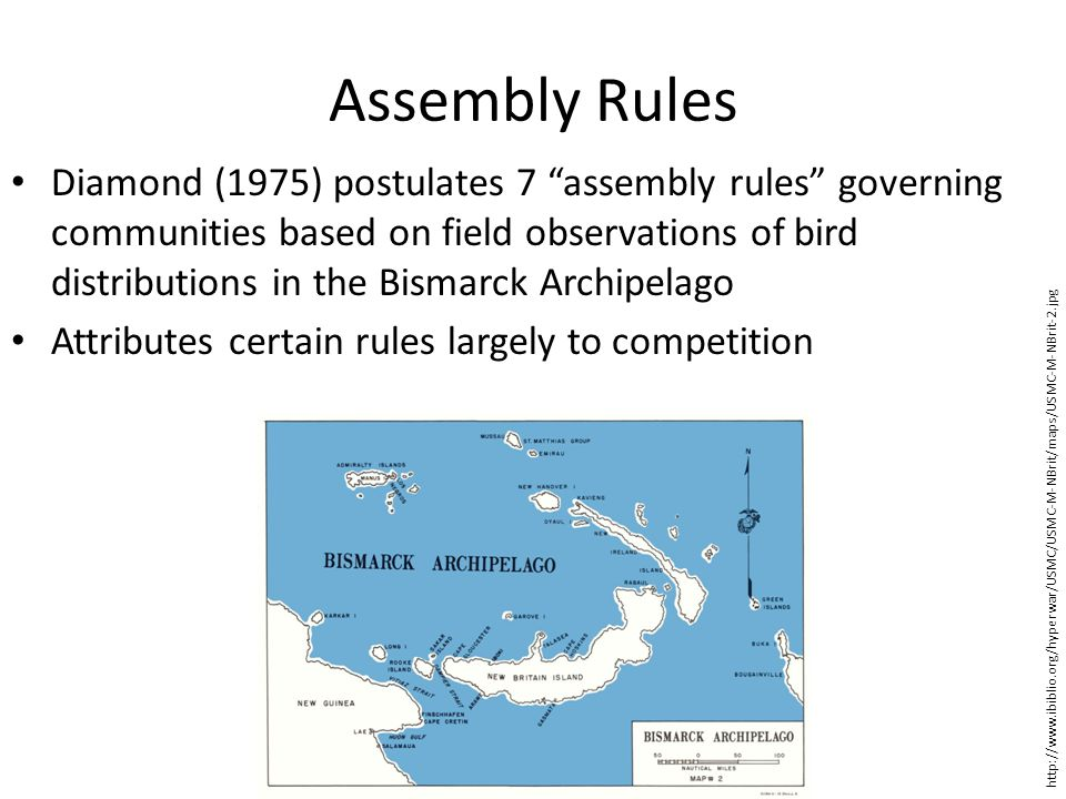 Assembly Rules