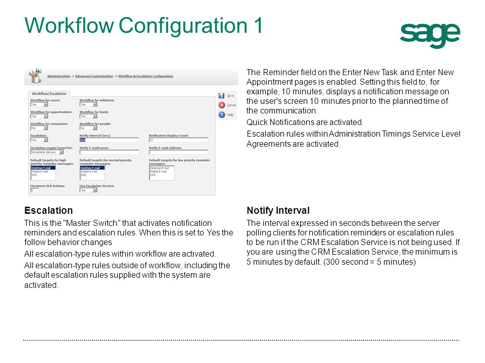 Workflow Configuration 1