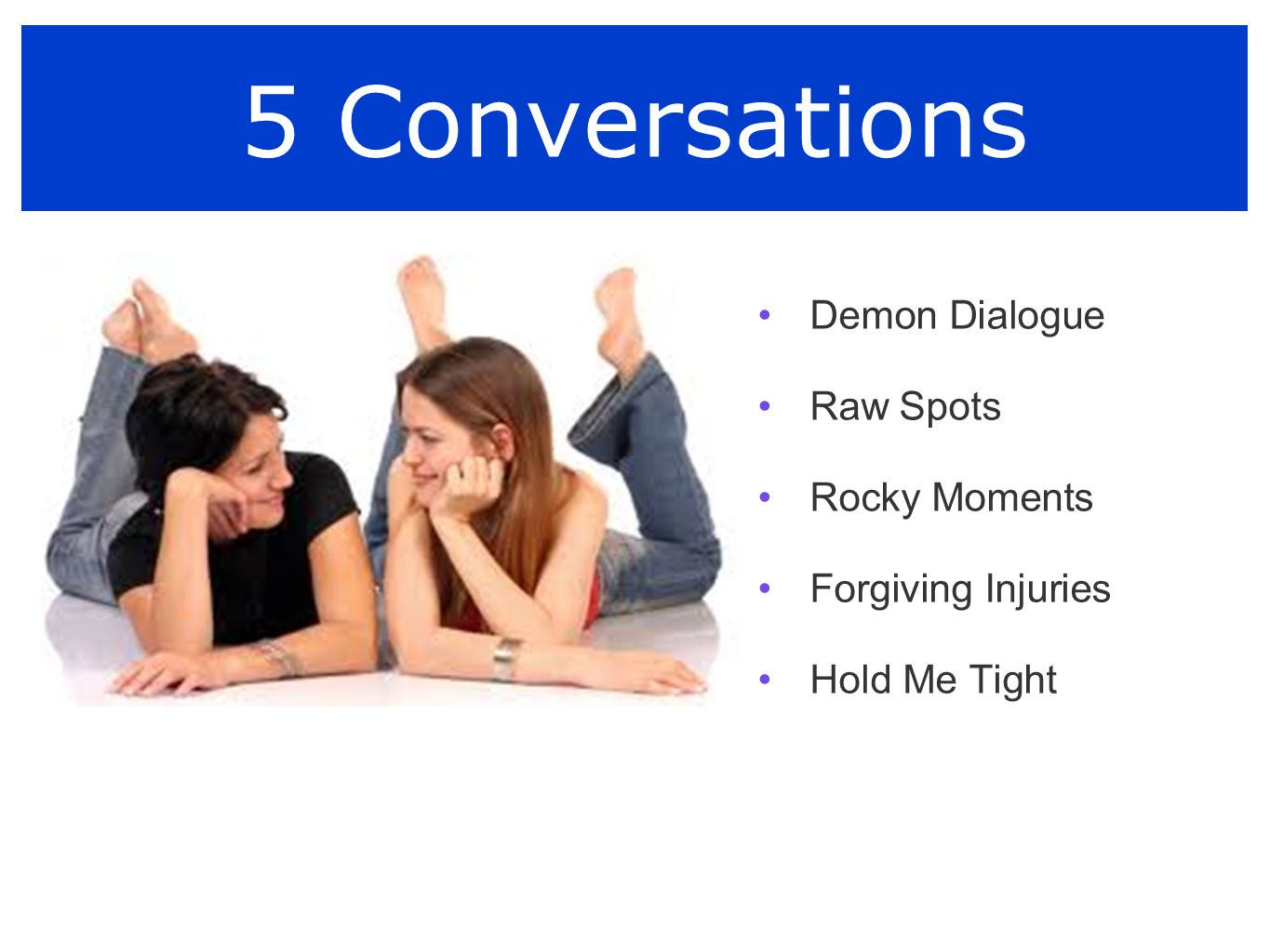 5 Conversations Demon Dialogue Raw Spots Rocky Moments