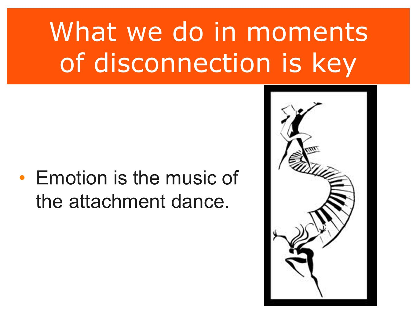 What we do in moments of disconnection is key