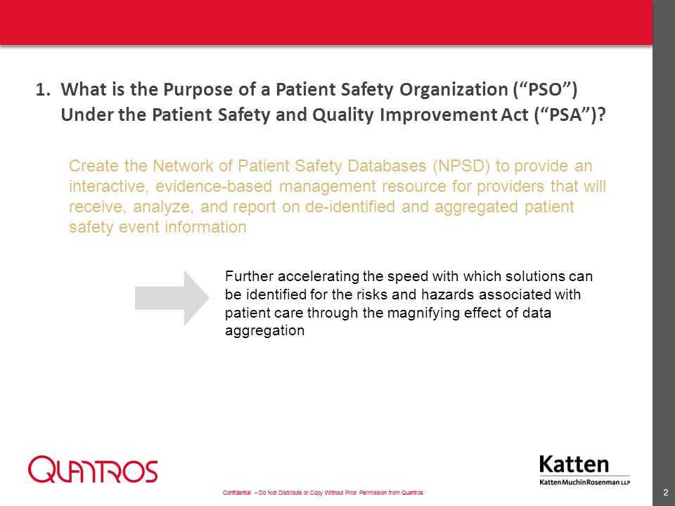 2. Define a Patient Safety Evaluation System ( PSES )