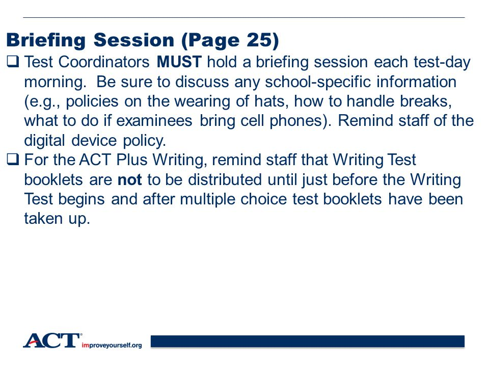 Briefing Session (Page 25)