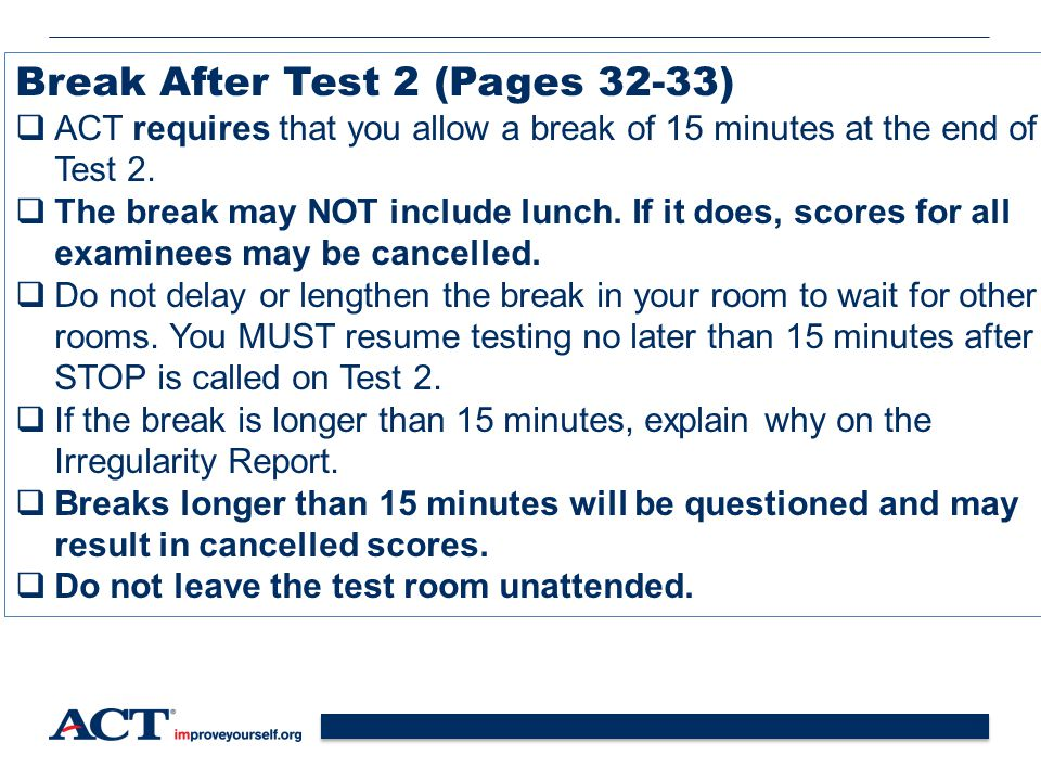Break After Test 2 (Pages 32-33)