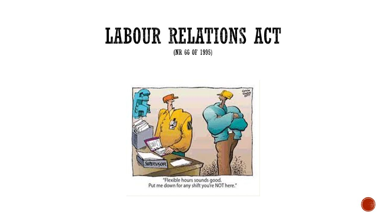 Labour Relation Act Assignement Essay