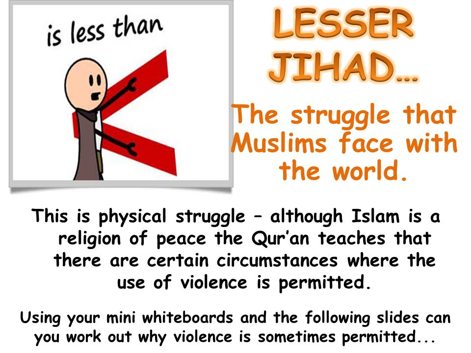 The struggle that Muslims face with the world.