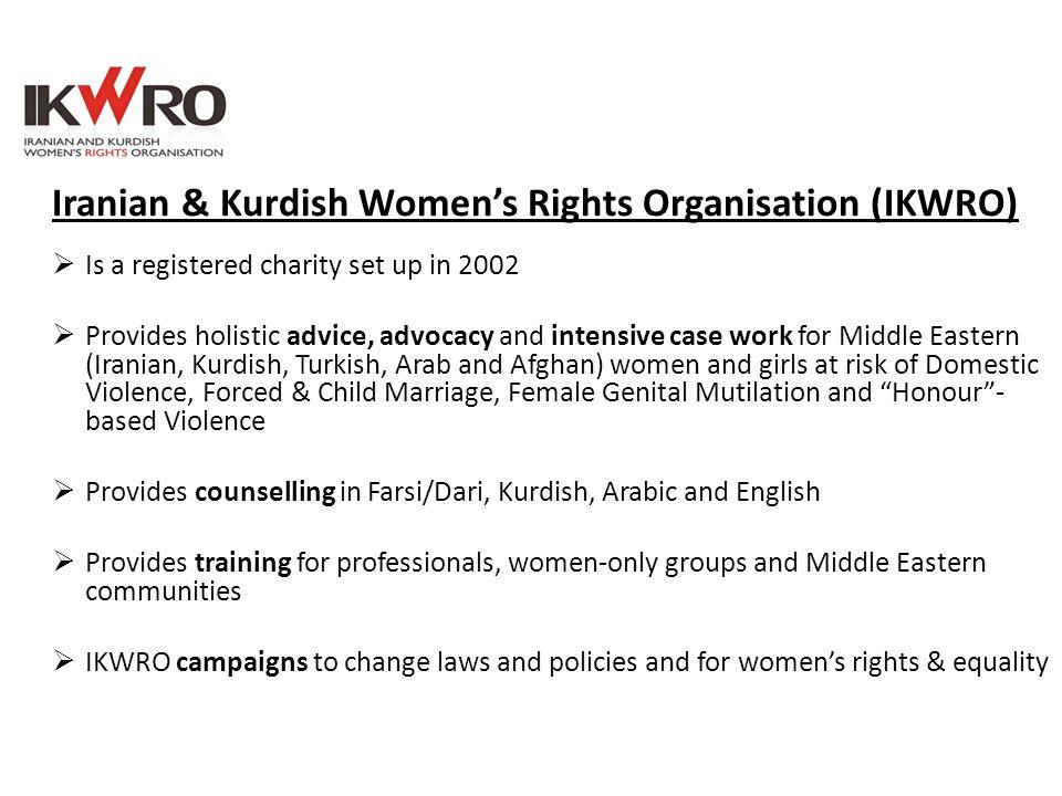 Iranian & Kurdish Women's Rights Organisation (IKWRO)
