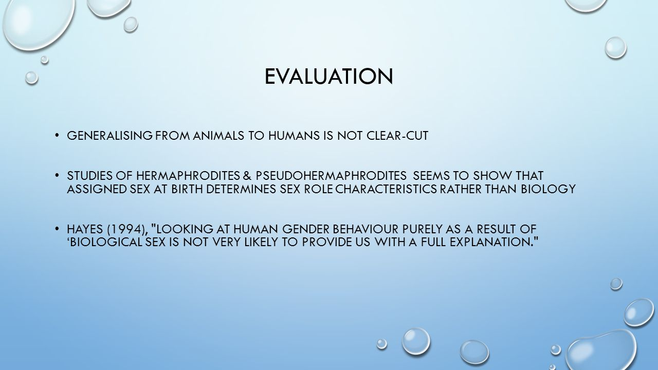 evaluation Generalising from animals to humans is not clear-cut