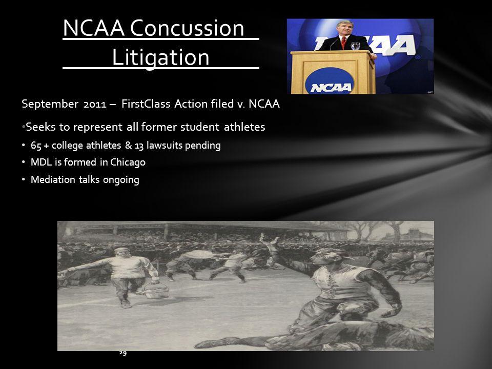 NCAA Concussion Litigation