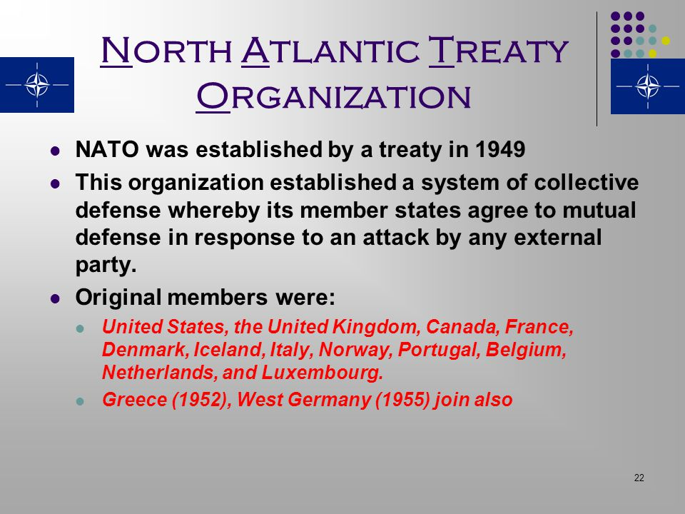 nato and cold war essay North atlantic treaty organization: simultaneously there was much discussion of the future of nato in the post-cold war era.