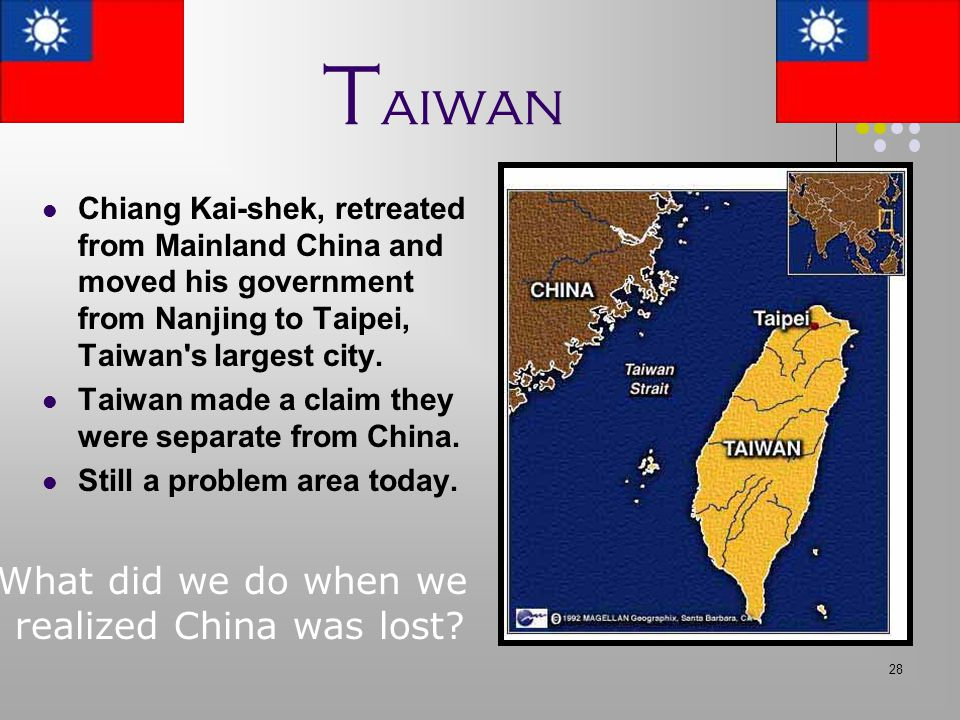 realized China was lost