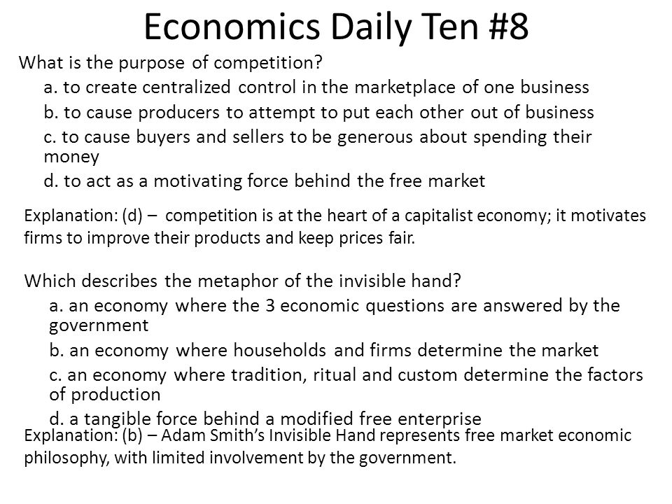 Economics Daily Ten #8