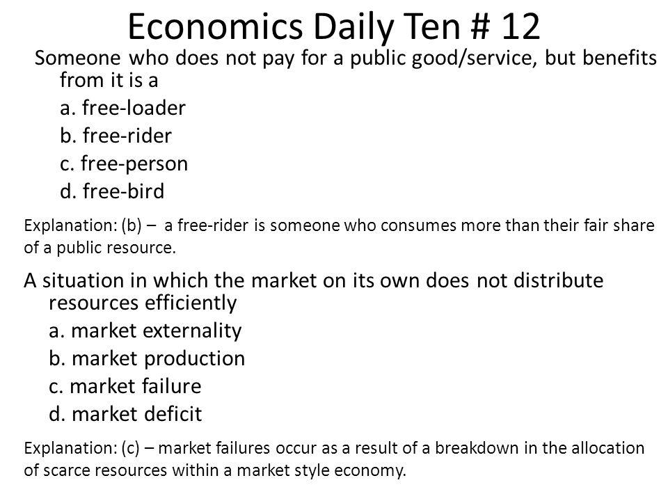 Economics Daily Ten # 12