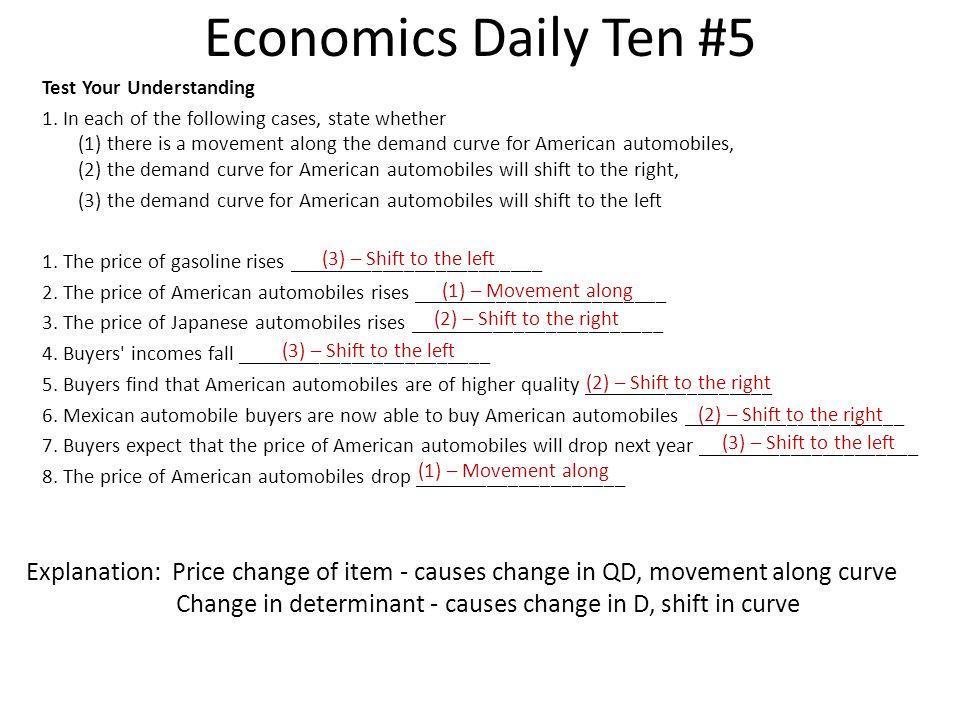 Economics Daily Ten #5