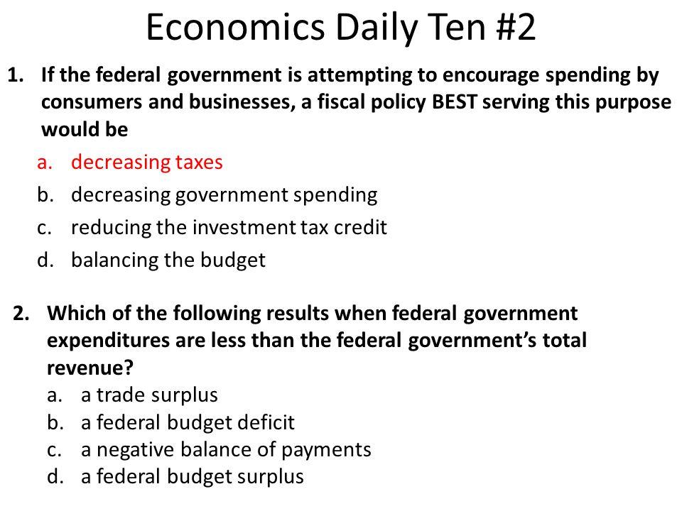 Economics Daily Ten #2
