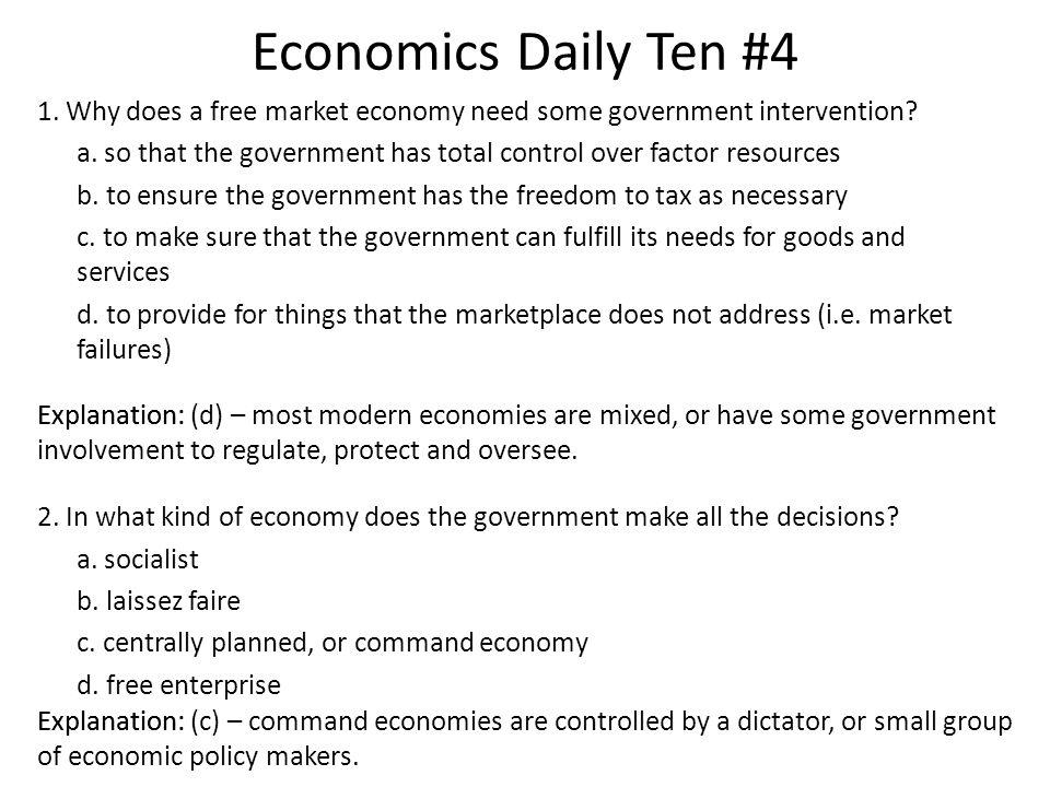 Economics Daily Ten #4