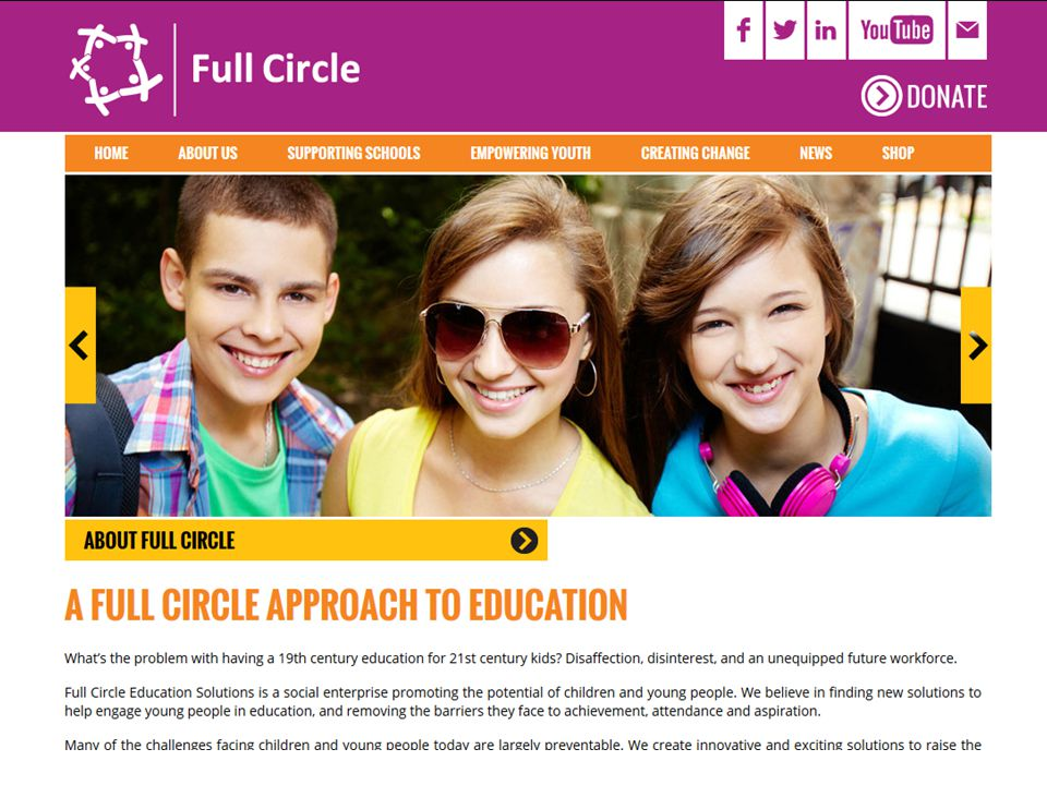 About Full Circle Our mission is to reduce the barriers faced by children and young people, to support attainment, school attendance and aspirations.
