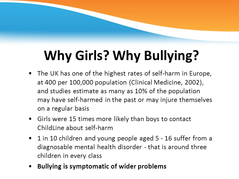 Why Girls Why Bullying