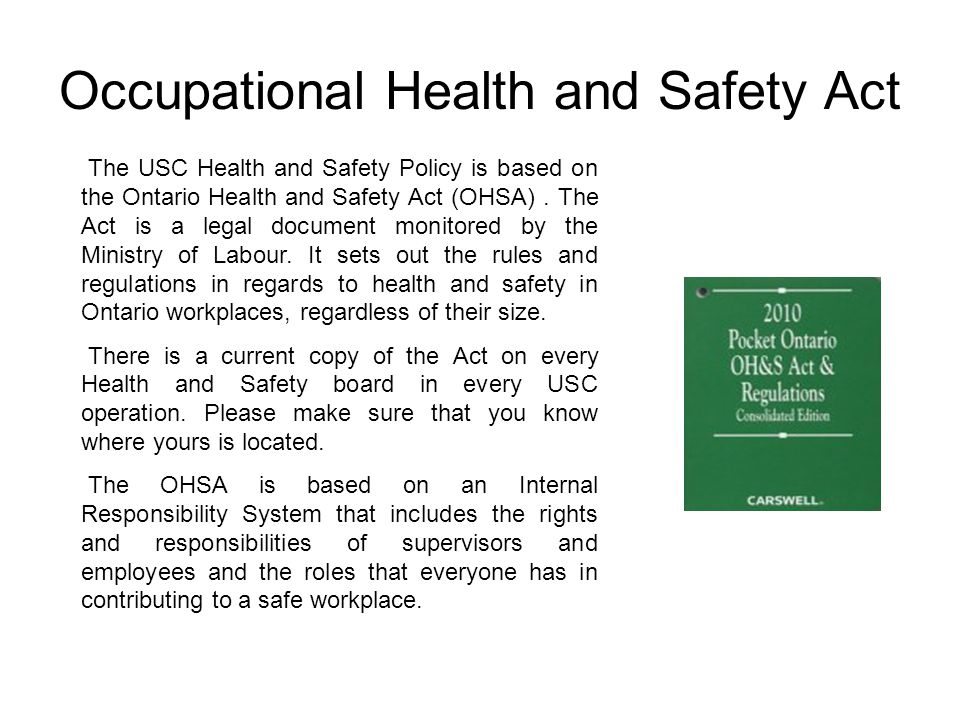 Orientation Health And Safety Training - Ppt Video Online Download