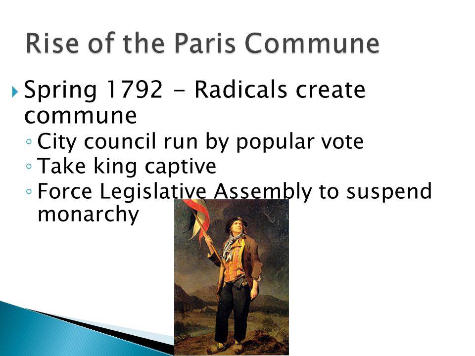 Rise of the Paris Commune