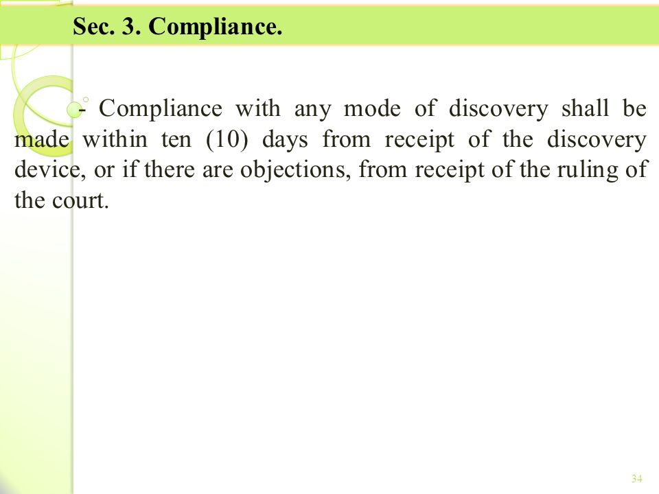 TITLE II - TAX ON INCOME Sec. 3. Compliance.