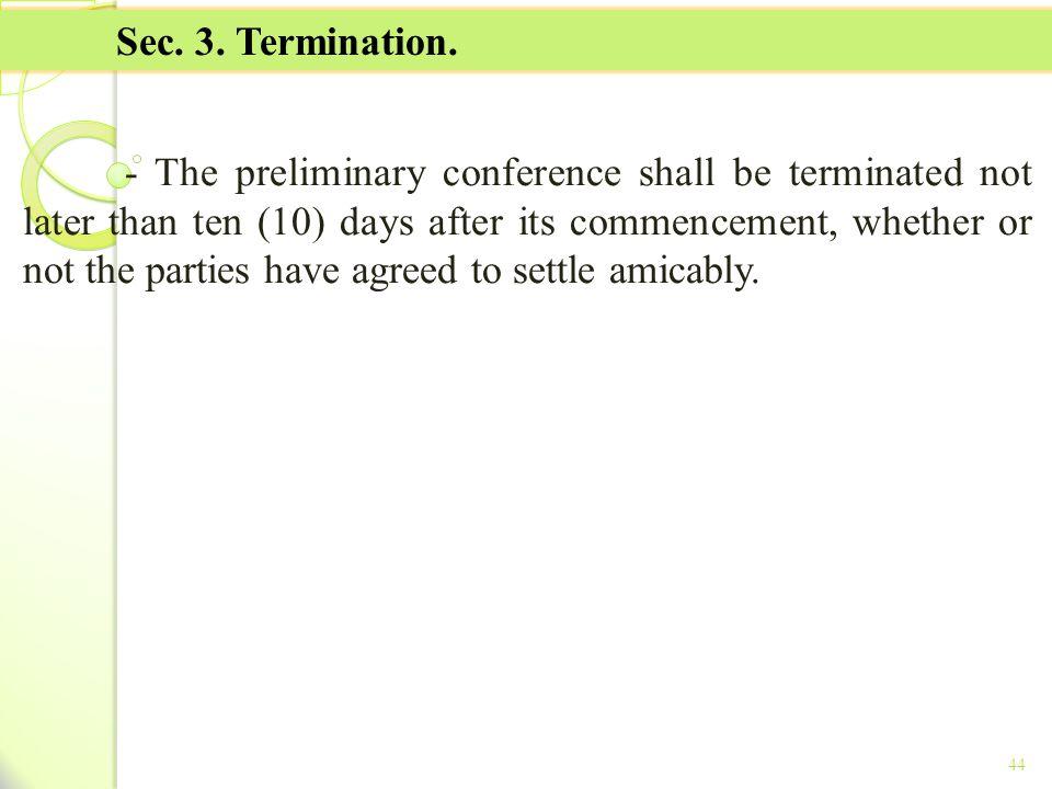 TITLE II - TAX ON INCOME Sec. 3. Termination.