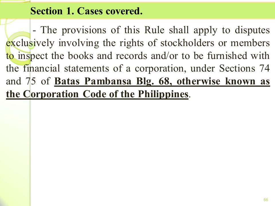 TITLE II - TAX ON INCOME Section 1. Cases covered.