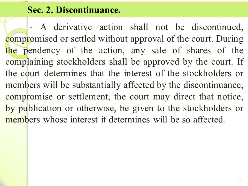 TITLE II - TAX ON INCOME Sec. 2. Discontinuance.