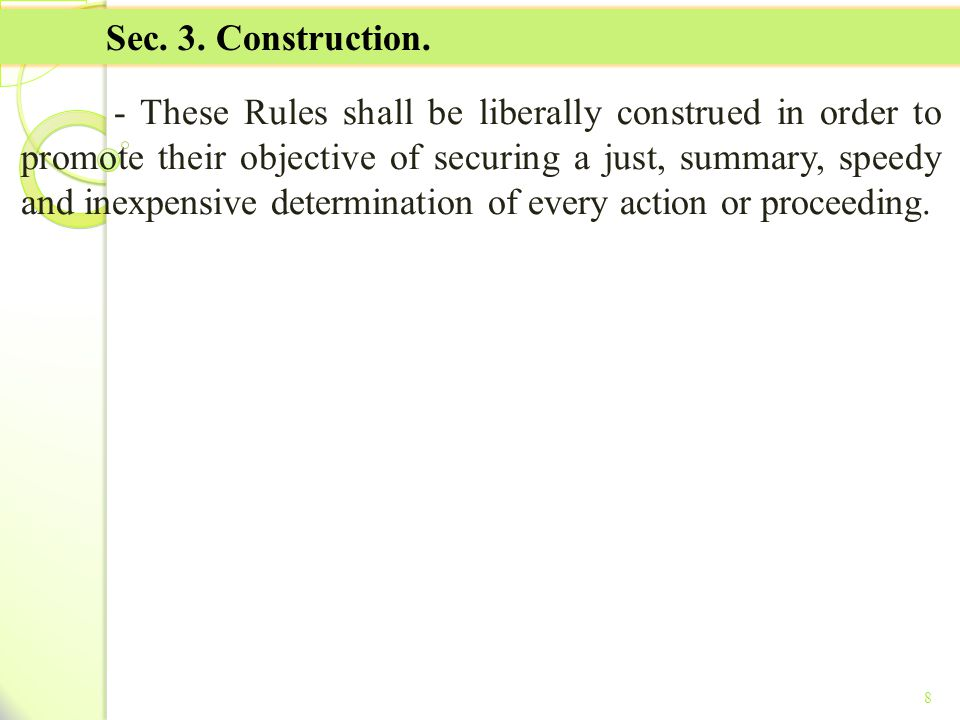 TITLE II - TAX ON INCOME Sec. 3. Construction.