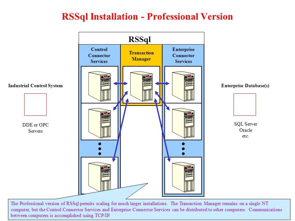 RSSql Installation - Professional Version