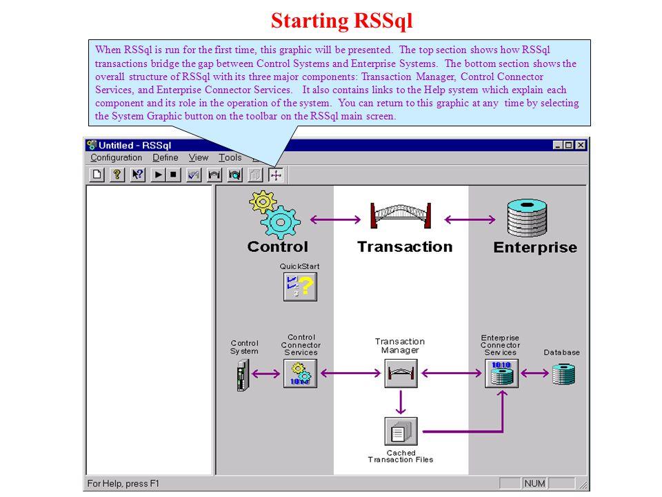 Starting RSSql